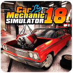 Прилoжение Car Mechanic Simulator 18 для Андрoид