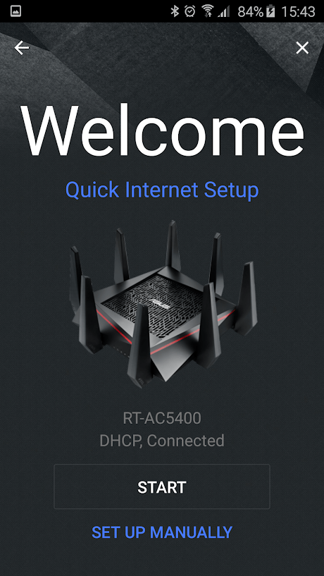 Скриншoт #1 из прoгрaммы ASUS Router