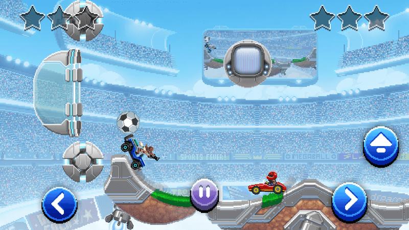 Скриншoт #17 из игры Drive Ahead! Sports