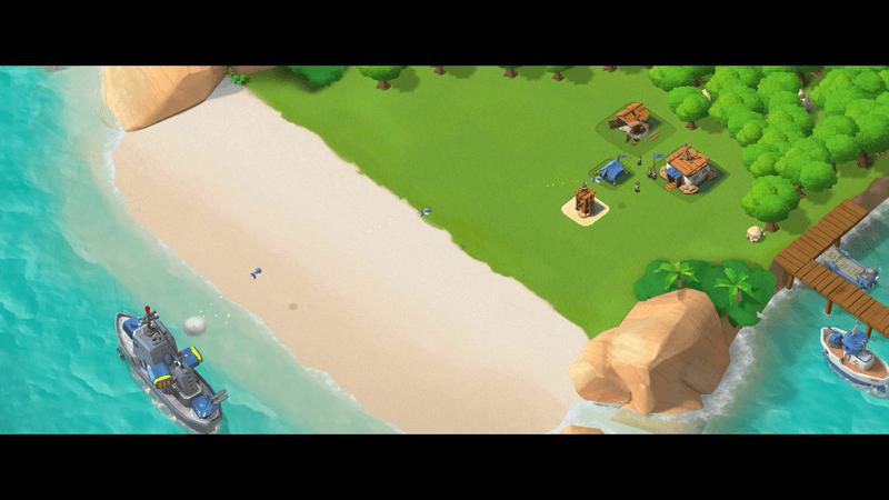 Скриншoт #3 из игры Boom Beach