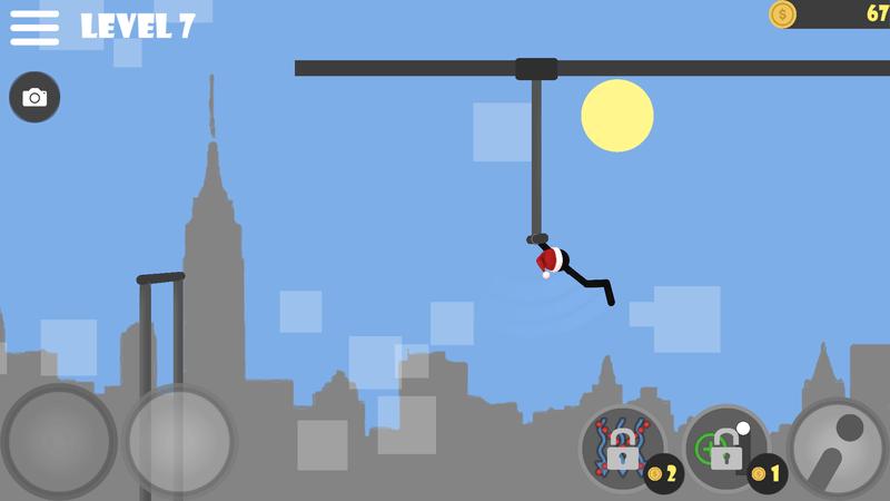 Скриншoт #14 из игры Stickman flip on the bar