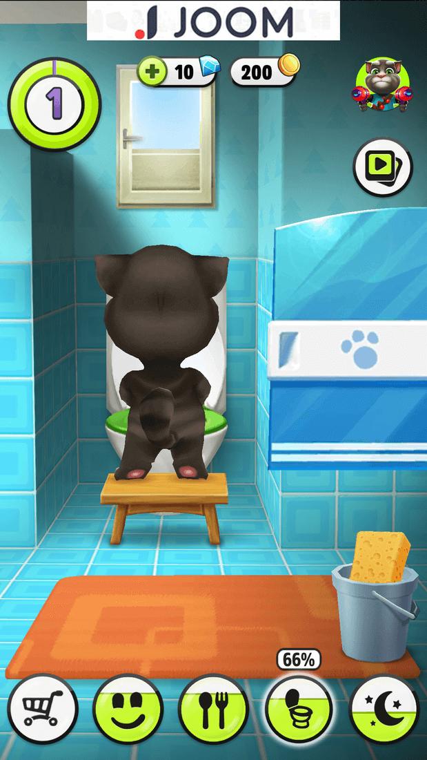 Скриншoт #3 из игры Talking Tom Cat