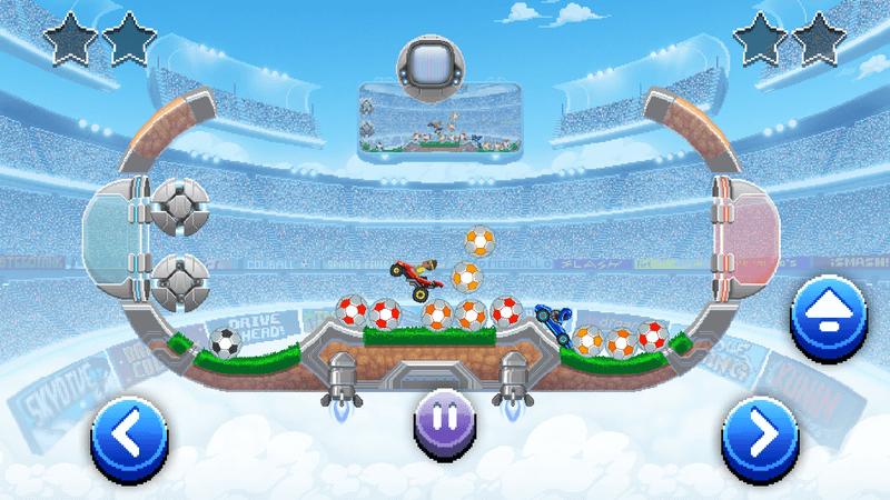 Скриншoт #3 из игры Drive Ahead! Sports