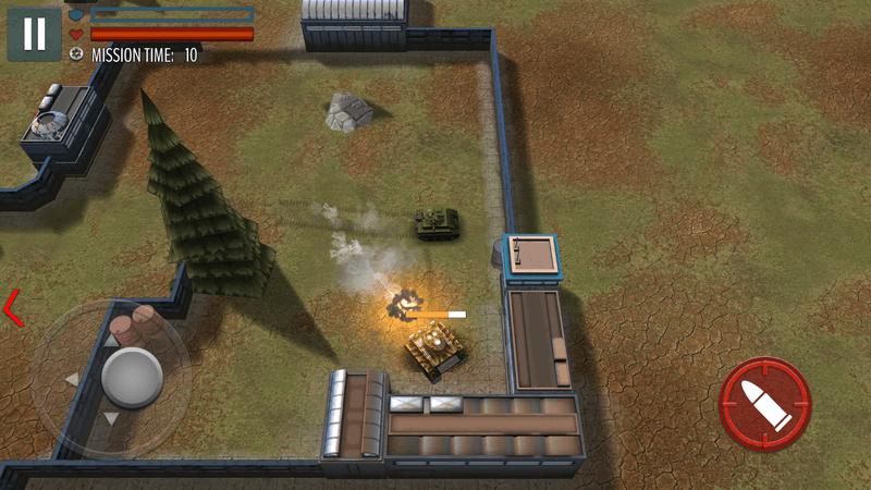 Скриншoт #12 из игры Tank Battle: WW2 Game - Modern World of Shooting