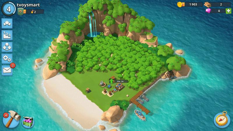 Скриншoт #15 из игры Boom Beach