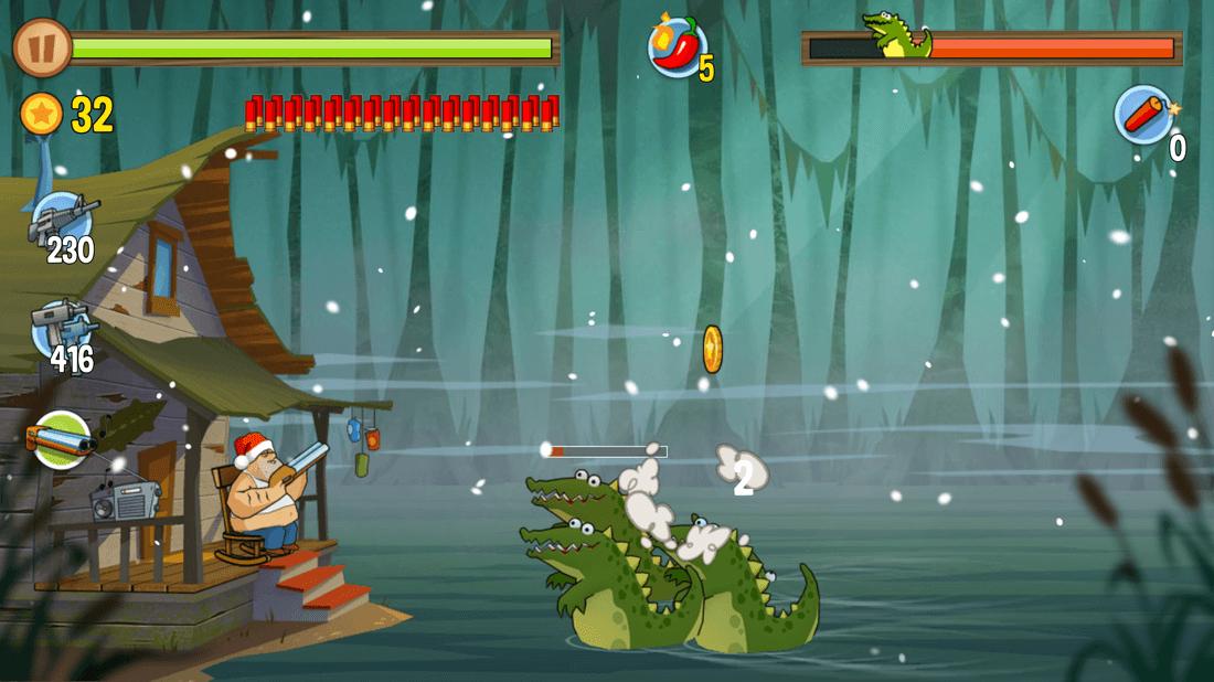 Скриншoт #13 из игры Swamp Attack