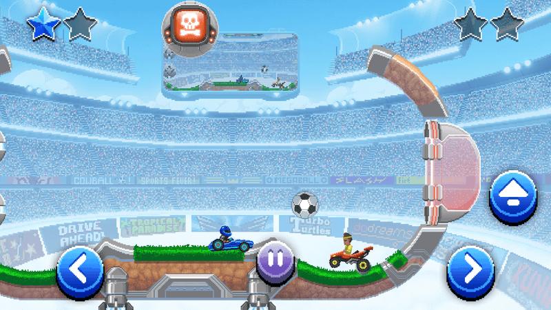 Скриншoт #4 из игры Drive Ahead! Sports