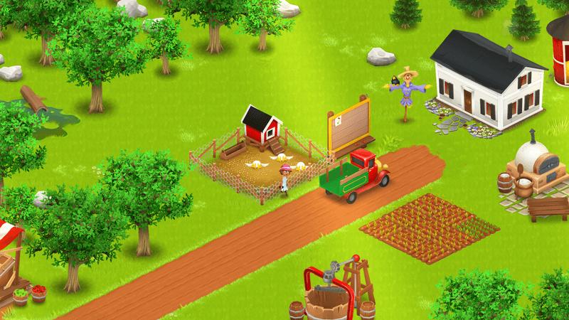 Скриншoт #6 из игры Hay Day
