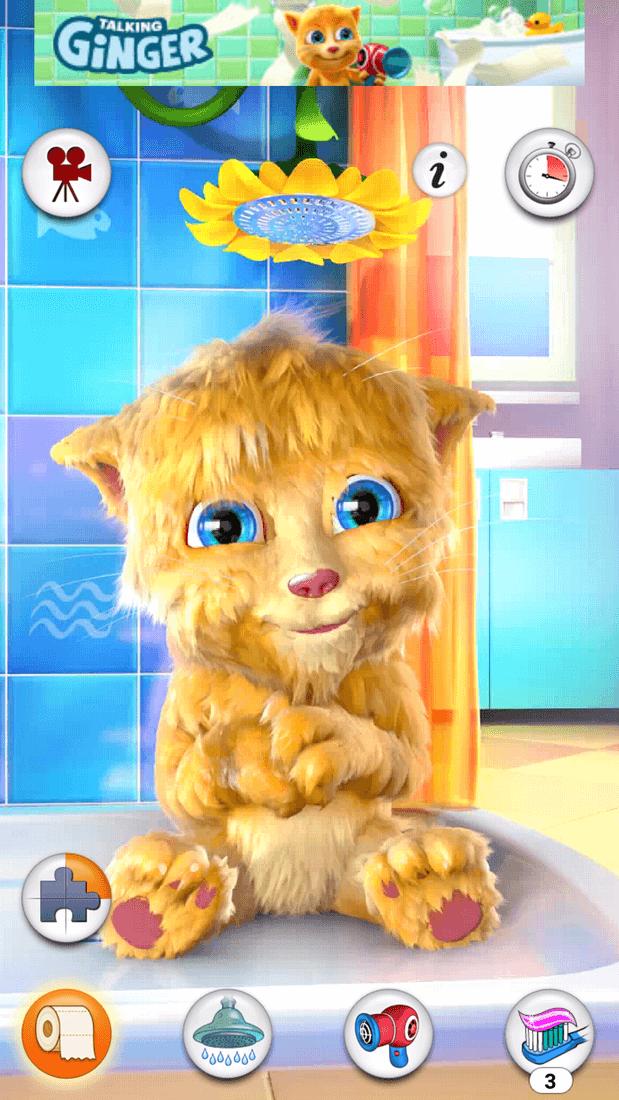 Скриншoт #3 из игры Talking Ginger