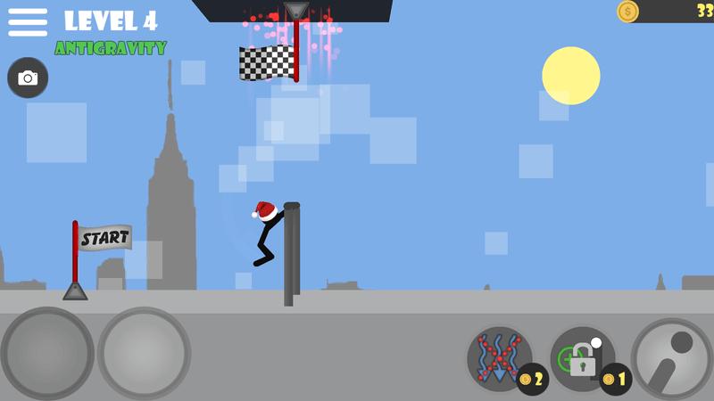Скриншoт #7 из игры Stickman flip on the bar